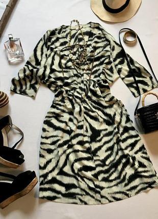 Очень крутое шёлковое платье бренда michael kors