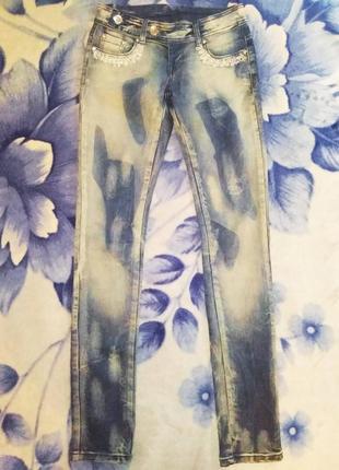 Джинсы fashion jeans новые xxs-xs6 фото