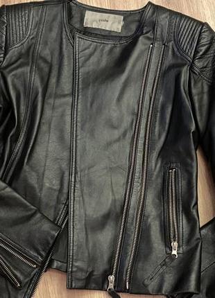 Кожаная куртка yoshe 36 размер