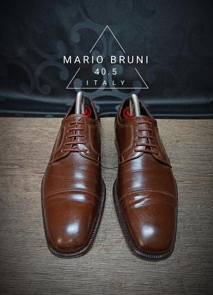 Туфли mario bruni 40.5p (27 cm) italy