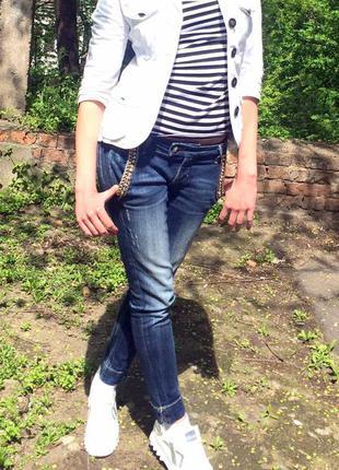 Крутецкие джинсы fracomina оригинал