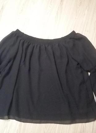 Красивейшая блуза с опущеными плечами select1 фото