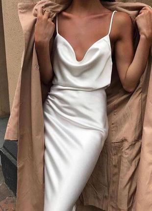 Млатье миди шёлк