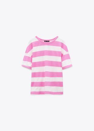 Новая футболка в полоску zara