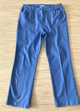 Комфортные джинсы красивого цвета, размер англ 14, укр 50-52