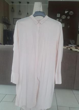 Рубашка,италия,шёлк,новая