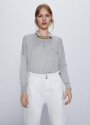 Белые джинсы багги baggy zara, 40р оригинал, испания5 фото
