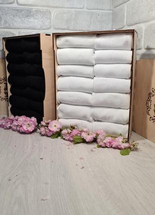 Набор носков в деревянной коробке