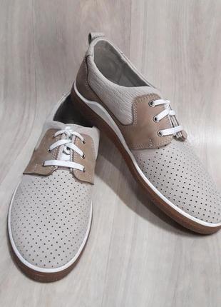 Натур. кожа туфли