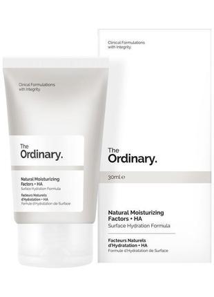 The ordinary natural moisturizing factors увлажняющий крем с гиалуроновой кислотой 30 мл