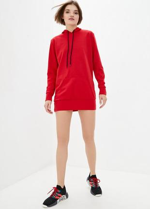 Жіноче спортивне плаття міні з капішоном enjoy 27905