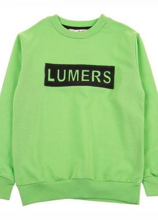 Джемпер lumers реглан кофта лонгслив