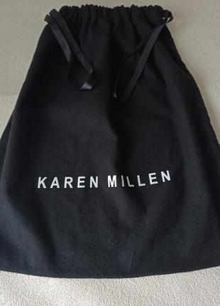 Брендовый пыльник для хранения сумок  karen millen