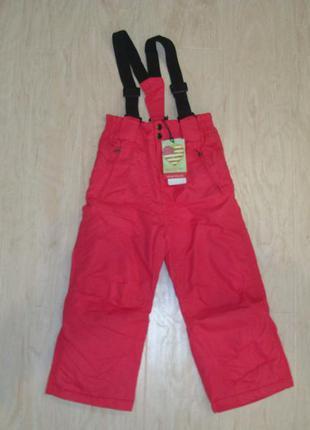 Лыжные брюки glo-story (венгрия) для девочки, новые