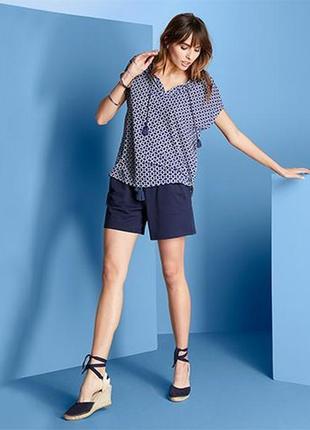 Классная блуза туника l 44/46 евро тсм tchibo.