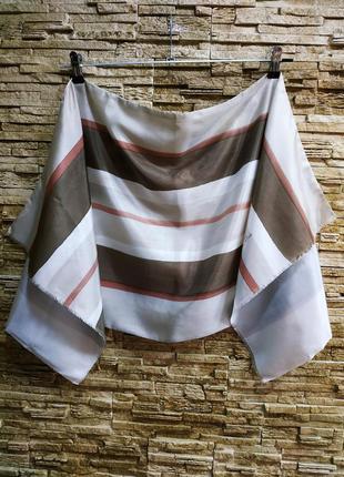 Шелковый шарф от dior