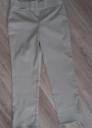 Світлі  жіночі штани стрейч