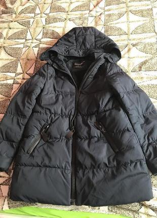 Куртка пуховик оверсайз хит