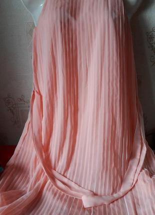 Платье плисе вечернее