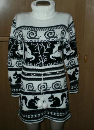 Уценка на все вещи!! спешите!!! шик!! шикарный свитер, платье р. 46