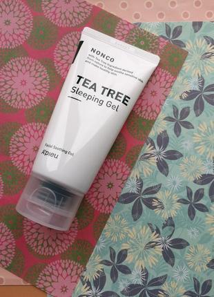 Ночная маскадля проблемной кожы a'pieu nonco tea tree sleeping gel