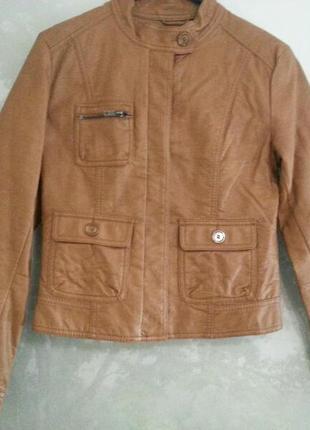 Кожаная куртка. h&m.