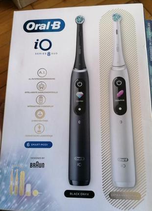 Зубні електрощітки oral-bi io8