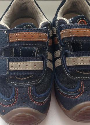 Кожаные кроссовочки geox