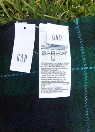 В наличии новый шарф gap7 фото
