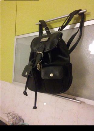 Кожаный рюкзачок. кожаный рюкзак
