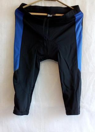 Crivit велошорты памперс coolmax® freshfx размер xl цвет черный синий