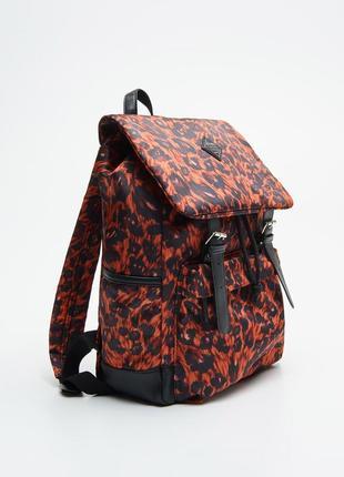 Рюкзак с леопардовым принтом zara cropp