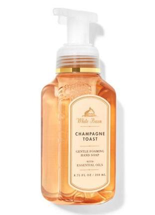 Мыло-пенка для рук champagne toast от bath and body works