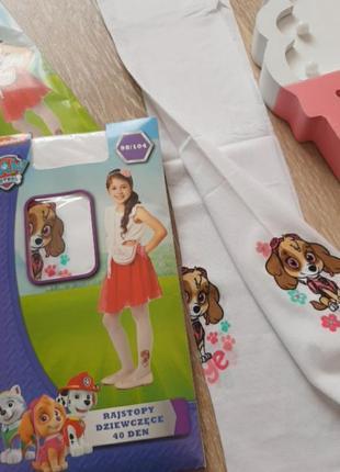 Новие колготи для дівчинки  , колготки безразмерни,  колготочки капронови