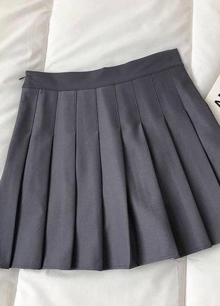 Стильная юбка в складку 👍 тренд сезона👍2 фото