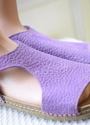 Кожаные босоножки сандали сандалии el naturalista р.40 26,2 см