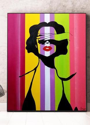 Интерьерная картина pop art