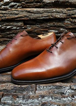 Оксфорды campanile 43 размер uk 9 италия натуральная кожа туфли взуття обувь