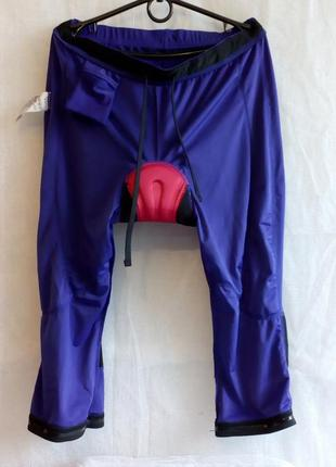 Crivit sports велошорты памперс coolmax® freshfx размер l цвет фиолетовый