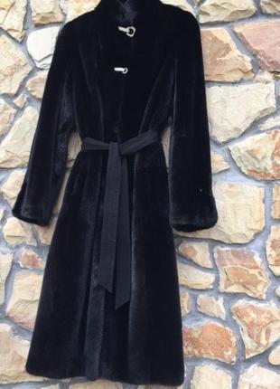 Шуба норковая blackglama d fur collection итальянская