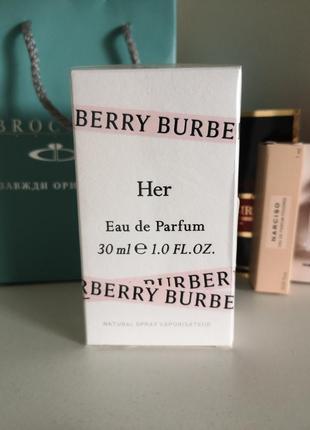 Духи burberry her