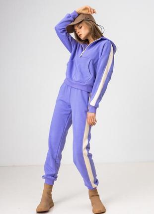 Спортивный костюм лиловый