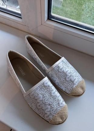 Туфли пинетки лодочки макасини