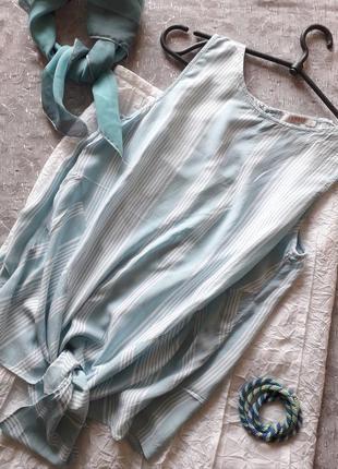 Блузка топ в полоску
