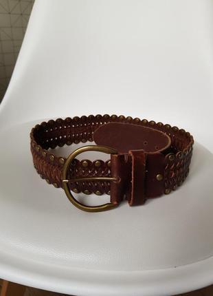 Шикарный кожаный ремень,женский кожаный поясной ремень,плетеный кожаный пояс
