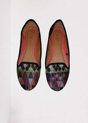 Лодочки туфли балетки стильные красивые tu