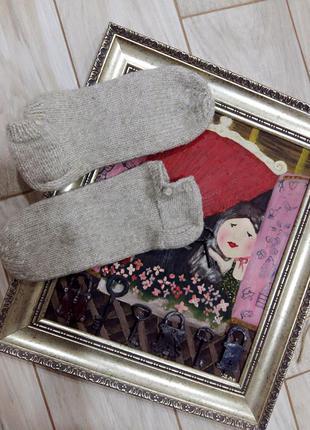 Короткие шерстяные носки для ножек 39-40 размера