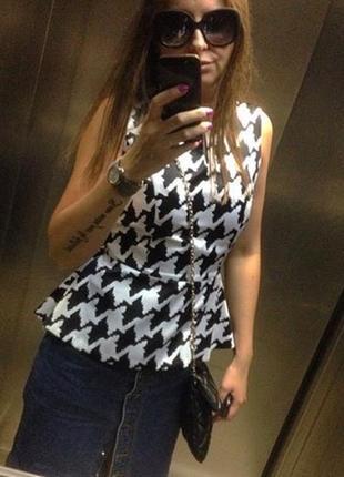 Блуза баска