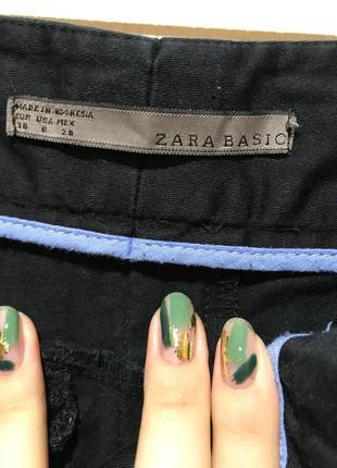 Коттоновые штанишки zara/брюки