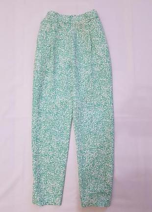Cos брюки штаны с защипами летние легкие 36 пот 41 см